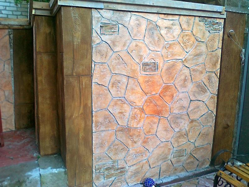 Декоративный бетон своими руками 545